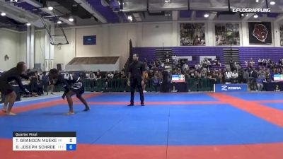 TODD BRANDON MUEKENHEIM vs BRENNAN JOSEPH SCHROEDER 2019 Pan IBJJF Jiu-Jitsu No-Gi Championship