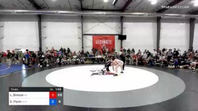 57 kg Final - Luke Simcox, M2 Magicians vs Cooper Flynn, Team Shutt