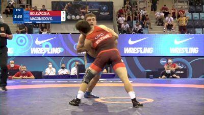 80 kg Final 1-2 - Achiko Bolkvadze, Georgia vs Kamaludin Magomedov, Russia