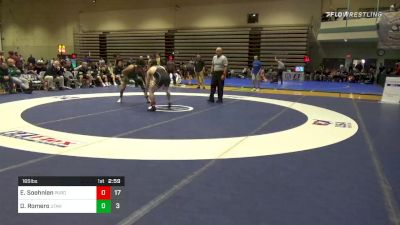 Quarterfinal - Emil Soehnlen, Purdue vs Demetrius Romero, Utah Valley
