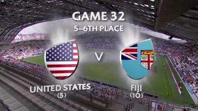 USA vs Fiji- HSBC World Women's 7s Series (Paris)