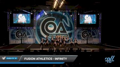 Fusion Athletics - Infinity [2020 L4 Senior - D2 - Small Day 2] 2020 COA: Midwest National Championship