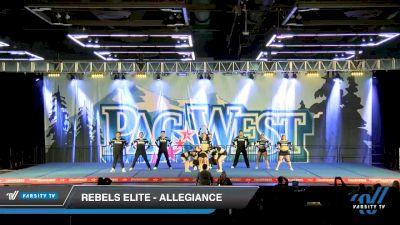 Rebels Elite - Allegiance [2020 L6 International Open - NT - Coed Day 2] 2020 PacWest