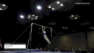 Kai Uemura - High Bar, Region 5 - 2021 Winter Cup & Elite Team Cup