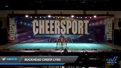 Buckhead Cheer Lynx [2021 Senior 3 D2] 2021 CHEERSPORT: Atlanta Grand Championship
