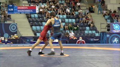 45 kg 1/4 Final - Rahim Hasanov, Azerbaijan vs Anri Khozrevanidze, Georgia