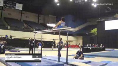 John David Glaser - Parallel Bars, SLGC - 2021 USA Gymnastics Development Program National Championships