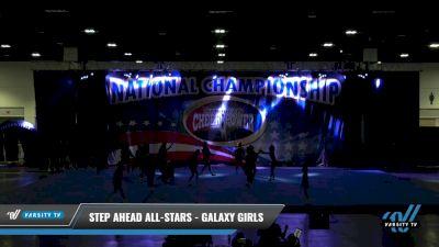 Step Ahead All-Stars - Galaxy Girls [2021 L2 Junior - D2 - Medium Day 1] 2021 ACP: Tournament of Champions