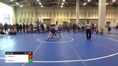 5th Place - Caden Darber, Virginia Tech vs Seth Hogue, West Virgina-UN