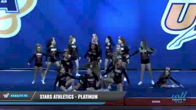 Stars Athletics - Platinum [2020 L2 Junior - Small Day 1] 2020 UCA Smoky Mountain Championship