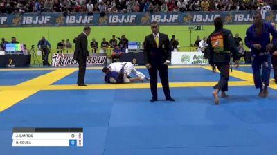 JACKSON SANTOS vs HORLANDO SOUSA 2018 European Jiu-Jitsu IBJJF Championship