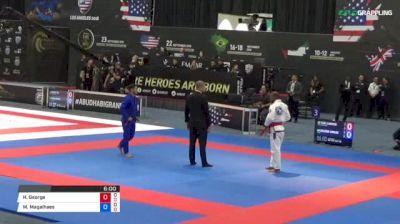 Pedro Clementino vs Guilherme Carvalho 2018 Abu Dhabi Grand Slam Los Angeles