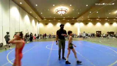 71 lbs Rr Rnd 3 - Trevor Eggleston, New York vs John Michael Wall, New Jersey