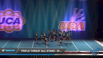 - Triple Threat All Starz - Diamonds [2019 Senior 3 Day 2] 2019 UCA and UDA Mile High Championship