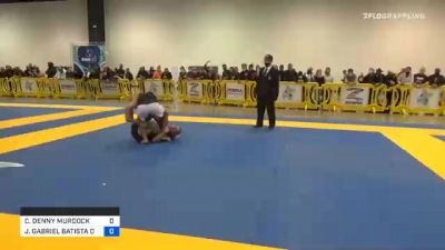 CHARLES DENNY MURDOCK vs JOÃO GABRIEL BATISTA DE SOUSA 2020 IBJJF Pan No-Gi Championship