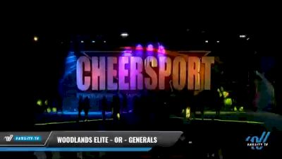Woodlands Elite - OR - Generals [2021 L6 Senior - Medium Day 2] 2021 CHEERSPORT National Cheerleading Championship