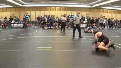 102 lbs Consi Of 8 #1 - Vincent Luttrell, 505 Wc vs Issac Torres, Sunkist Kids/Monster Garage