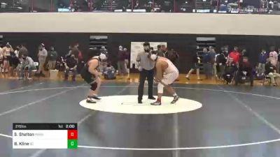 215 lbs Final - Savauri Shelton, Bermudian Springs vs Brody Kline, Berks Catholic