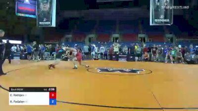 145 lbs Quarterfinal - Caleb Rathjen, Iowa vs Richard Fedalen, Maryland