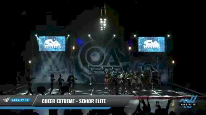 Cheer Extreme - Kernersville - Senior Elite [2021 L6 Senior - Large Day 1] 2021 COA: Midwest National Championship
