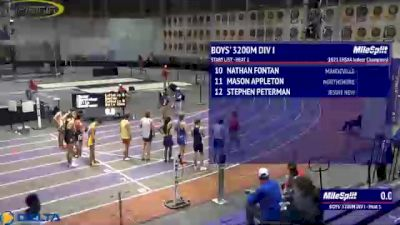 High School Boys' 3200m Division 1, Finals 1