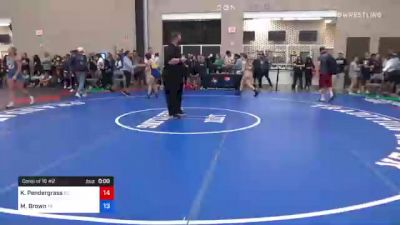 53 kg Consi Of 16 #2 - Autumn Gordon, OH vs Charlotte Fowler, TX