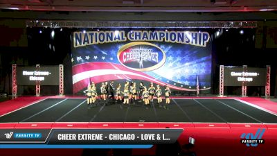 Cheer Extreme - Chicago - Love & Light [2021 L6 Senior Coed Open - Small Day 2] 2021 ACP: Midwest World Bid National Championship