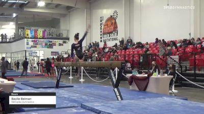 Baylie Belman - Beam, Metroplex Gymnastics - 2021 Region 3 Women's Championships
