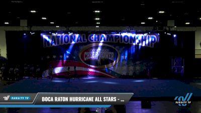 Boca Raton Hurricane All Stars - Tiger Sharks [2021 L2 Senior - D2 Day 2] 2021 ACP: Tournament of Champions