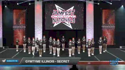 GymTyme Illinois - Secret [2021 L3 Junior - Small - B Day 1] 2021 JAMfest Cheer Super Nationals