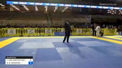 LUCAS DOS SANTOS PINHEIRO vs DAVID B. ZENNARIO 2020 Pan Jiu-Jitsu IBJJF Championship