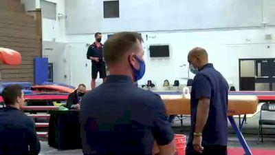 Shane Wiskus - Pommel Horse, U.S.O.P.T.C. Gymnastics - 2021 Men's Olympic Team Prep Camp