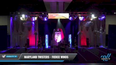Maryland Twisters - Fierce Winds [2021 L4 Junior - Small Day 2] 2021 Queen of the Nile: Richmond