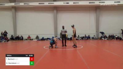 165 lbs Final - Thomas Bullard, NC State vs Sawyer Davidson, UNC Unattached