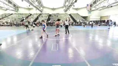 108 lbs 2nd Place - Beniamino DiCocco, CJA vs Chris Hong, Olympic