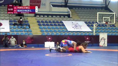76 kg Rr Rnd 4 - Josselyn Tatiana Portillo Mejia, El Salvador vs Genesis Rosangela Reasco Valdez, Ecuador