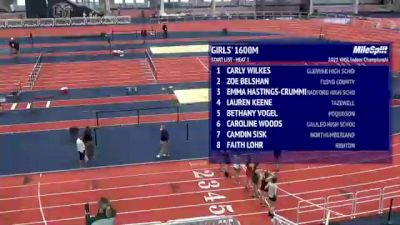 High School Girls' 1600m, Finals 1