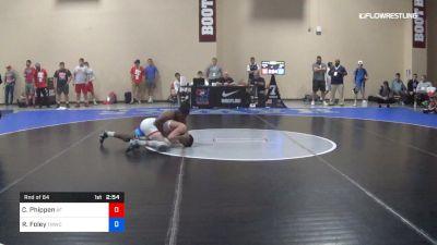 57 kg Rnd Of 64 - Cody Phippen, Air Force RTC vs RayVon Foley, TMWC