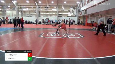 Prelims - Hayden Hidlay, NC State vs Garrett Fisk, University Of Maryland Unattached