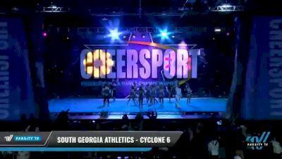 South Georgia Athletics - Cyclone 6 [2021 L6 Senior Coed - Small Day 2] 2021 CHEERSPORT National Cheerleading Championship