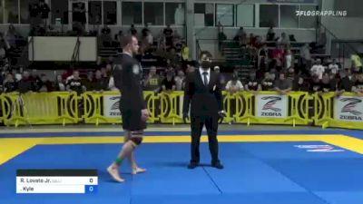 Rafael Lovato Jr. vs Kyle Ryan Mitchell 2021 Pan IBJJF Jiu-Jitsu No-Gi Championship