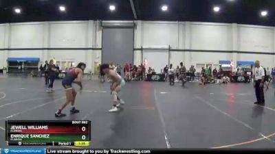 140 lbs 5th Place Match - Jewell Williams, Florida vs Enrique Sanchez, Florida