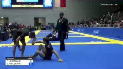 FABIO MURAT CALOI vs GIANNI PAUL GRIPPO 2021 World IBJJF Jiu-Jitsu No-Gi Championship