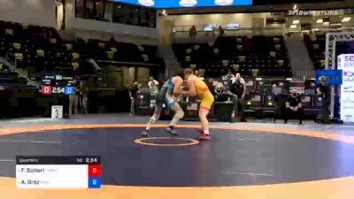 77 kg Quarterfinal - Fritz Schierl, TMWC/OHIO RTC vs Alec Ortiz, Minnesota Storm