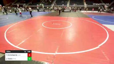 132 lbs 2nd Place - Jalen Vladic, Darkhorse WC vs Terrell Kinlicheenie, Lobos