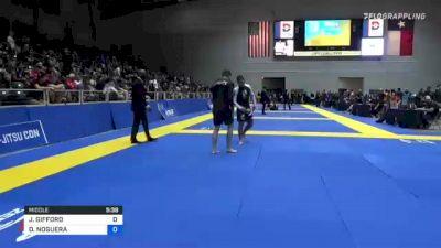 JAMES GIFFORD vs DIEGO NOGUERA 2021 World IBJJF Jiu-Jitsu No-Gi Championship