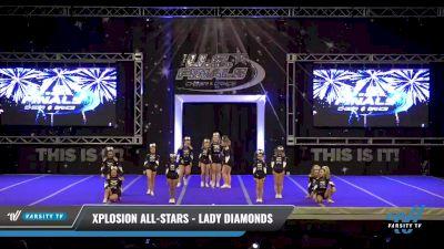 Xplosion All-Stars - Lady Diamonds [2021 L1 Junior - D2 Day 2] 2021 The U.S. Finals: Ocean City