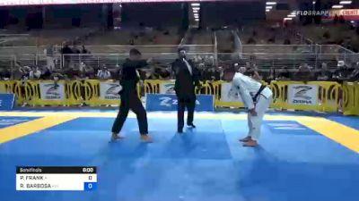 PITER FRANK vs RAFAEL BARBOSA 2020 Pan Jiu-Jitsu IBJJF Championship