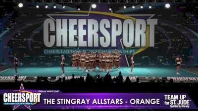 The Stingray Allstars - Marietta - Orange [2020 L6 Senior Large Day 1] 2020 CHEERSPORT Nationals: Friday Night Live