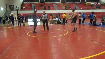 220 lbs Final - Collin Bidwell, JC vs Elijah Babb, MI